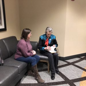 Julie sits with Dr. Grandin as they discuss her new book Calling all Minds